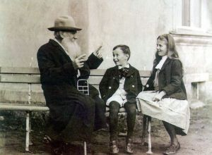 Leo Tolstoy and Grandchildren