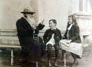 Leo Tolstoy and Grandchildren