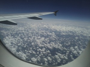 Shot from the plane